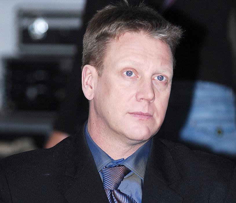 Jan Jankowski na planie filmowym. Warszawa /MWMedia