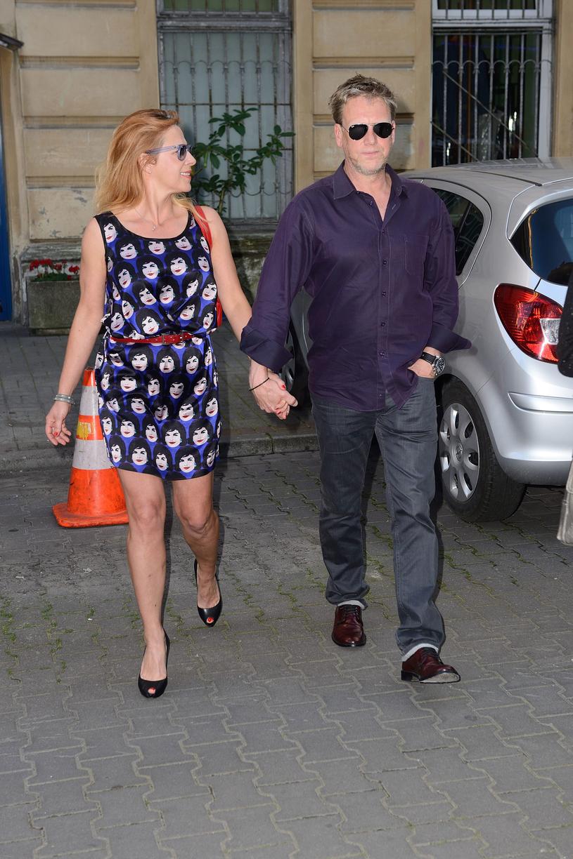 Jan Jankowski z żoną. Warszawa /123RF/PICSEL