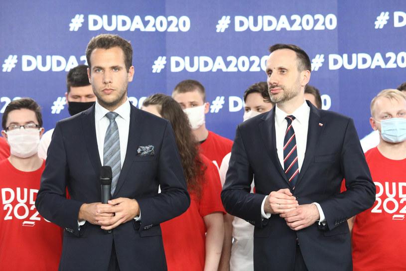 Jan Kanthak i Janusz Kowalski /Fot Tomasz Jastrzebowski /Reporter