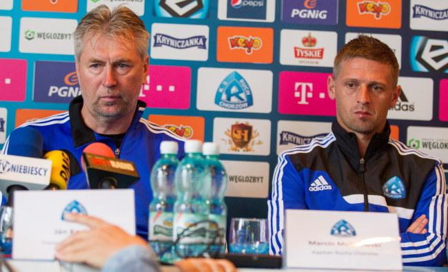 Jan Kocian i Marcin Malinowski /Andrzej Grygiel /PAP