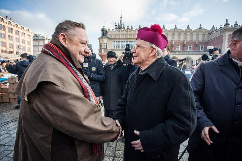 Jan Kościuszko i abp. Marek Jędraszewski, 17.12.2017 /Jan Graczyński /East News