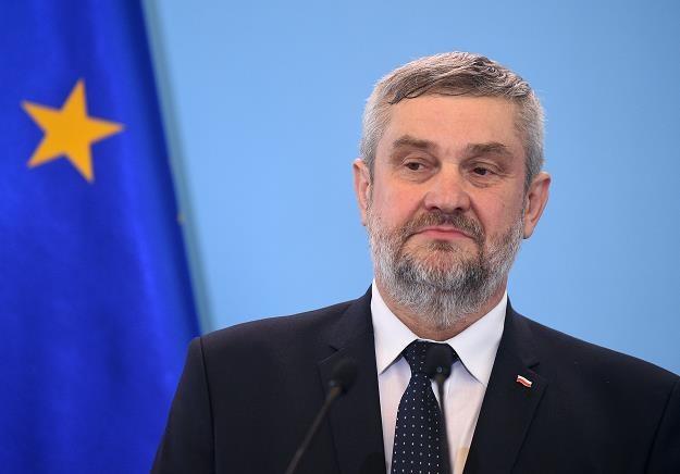 Jan Krzysztof Ardanowski, minister rolnictwa. Fot. Adam Chestowski /FORUM