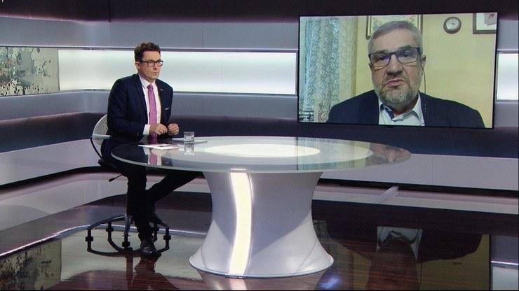 """Jan Krzysztof Ardanowski w programie Polsat News """"Graffiti"""" /Polsat News"""