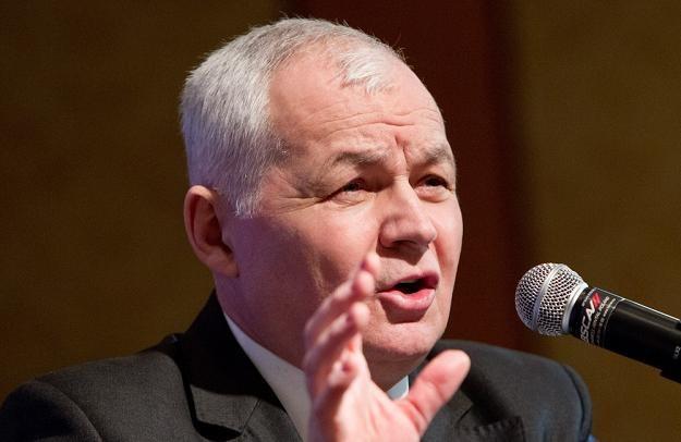 Jan Krzysztof Bielecki, kandydat na szefa EBOiR. Fot. Andrzej Stawiński /Reporter