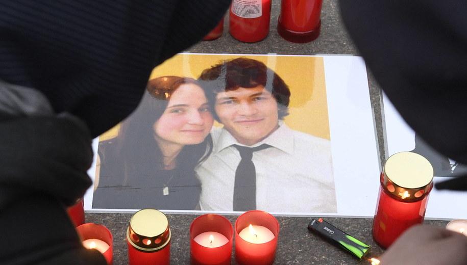 Jan Kuciak i Martina Kusznirova zostali zabici w lutym 2018 roku. / Michal Krumphanzl /PAP/EPA