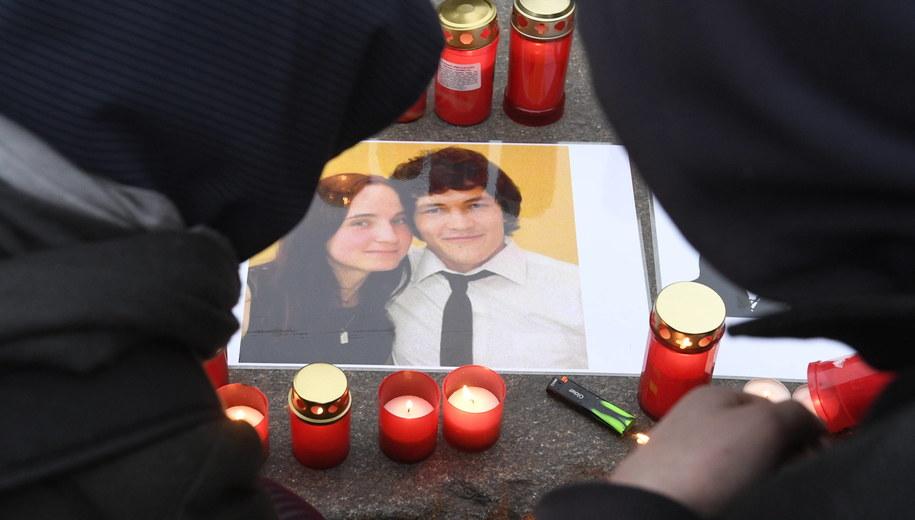 Jan Kuciak i Martina Kusznirova zostali zastrzeleni pod koniec lutego 2018 roku w swoim domu w miejscowości Velka Macza / Michal Krumphanzl /PAP/EPA