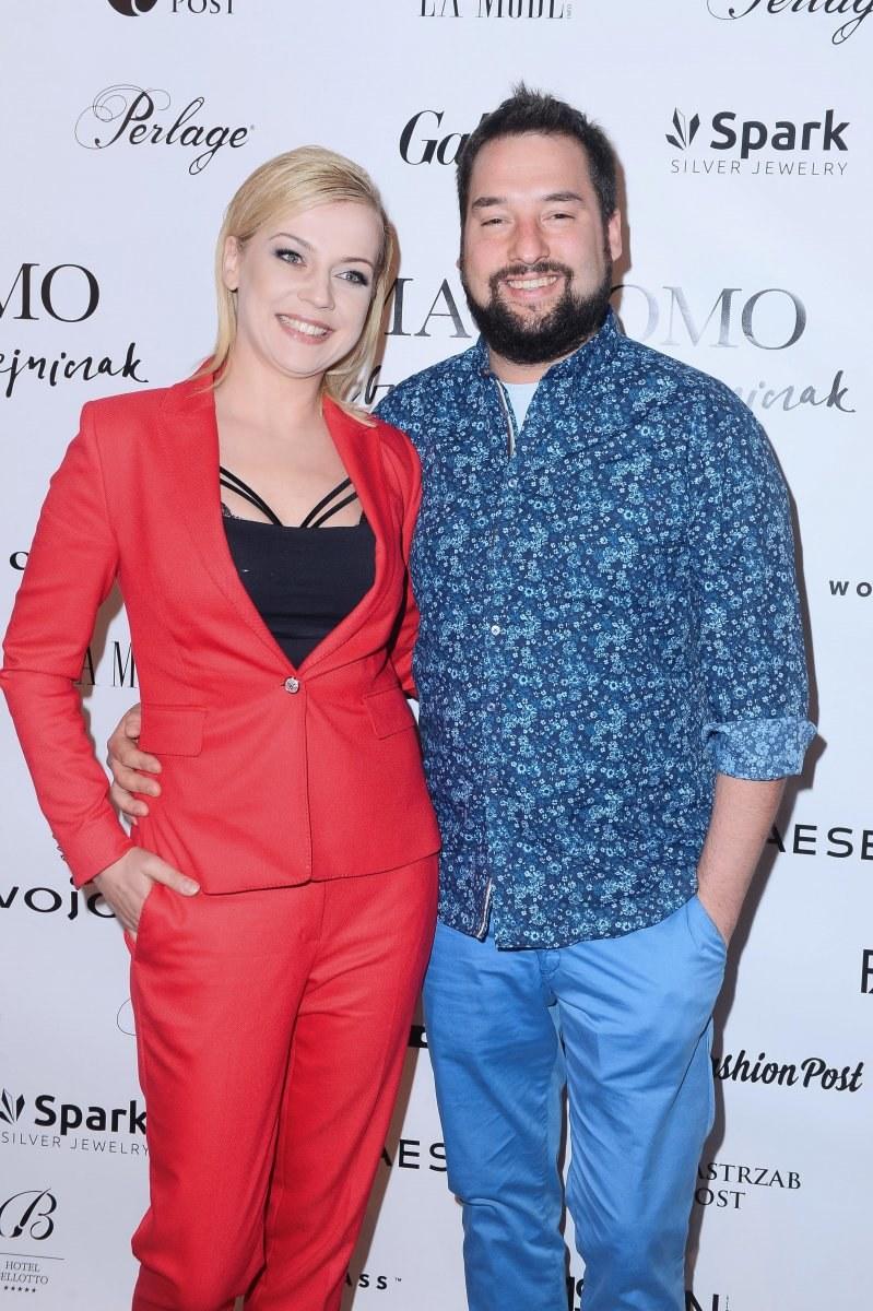 Jan Kuroń z żoną Anetą /Jarosław Antoniak /MWMedia