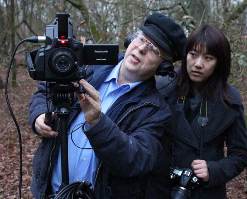 Jan Ledóchowski - autor filmu. Źródło: zbiory prywatne Jana Ledóchowskiego /