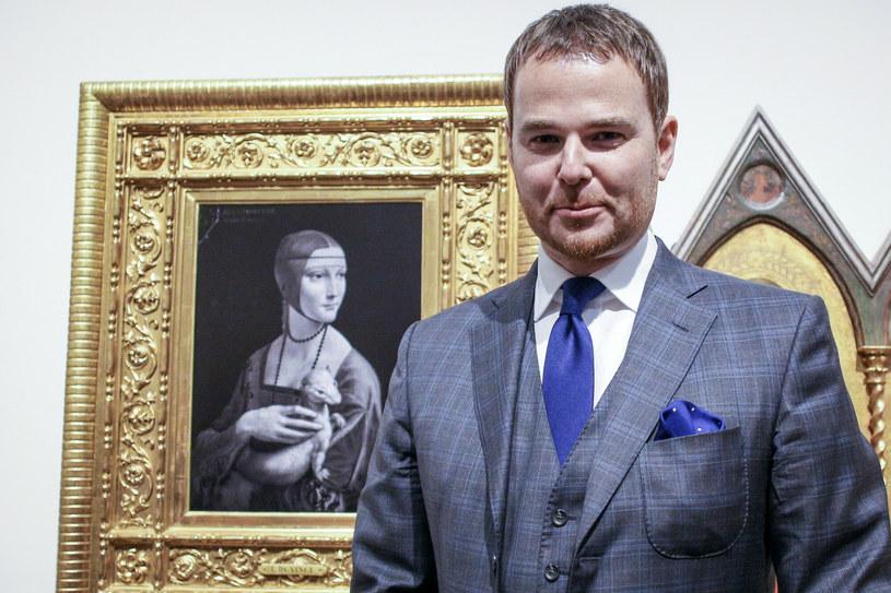 Jan Lubomirski-Lanckoroński /Beata Zawrzel/REPORTER /East News