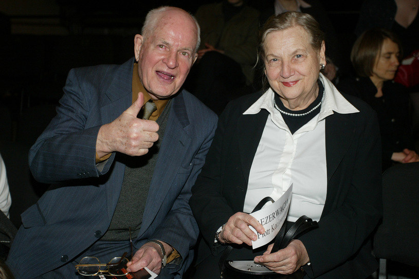 Jan Machulski z żoną Haliną /Palicki /AKPA