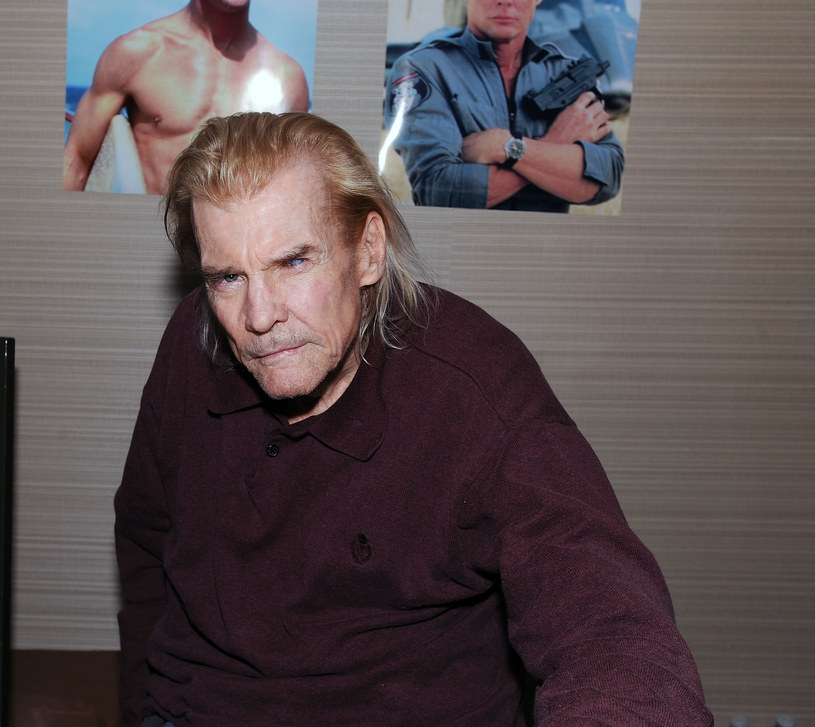 Jan-Michael Vincent w 2017 roku /Bobby Bank /Getty Images