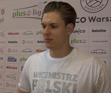 Jan Nowakowski po sezonie PlusLigi. Wideo