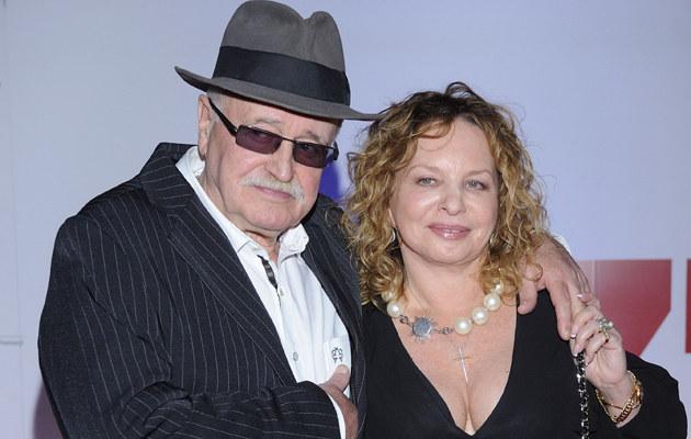 Jan Nowicki i Małgorzata Potocka byli małżeństwem przez pięć lat /Jarosław Antoniak /MWMedia