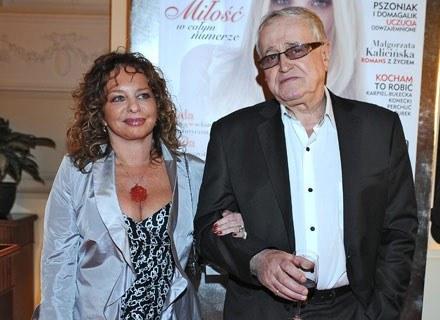 Jan Nowicki i Malgorzata Potocka, fot. Andrzej Szilagyi /MWMedia
