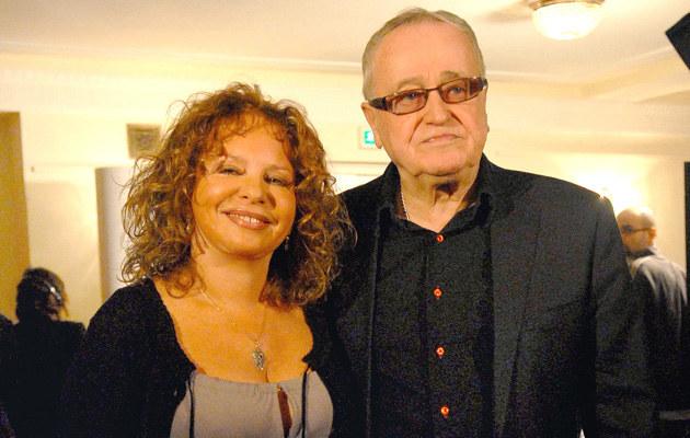 Jan Nowicki i Małgorzata Potocka, fot. Marek Ulatowski  /MWMedia