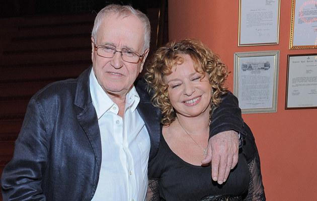 Jan Nowicki i Małgorzata Potocka poznali się trzydzieści lat temu we Włoszech, fot.P. Przybyszewski  /MWMedia