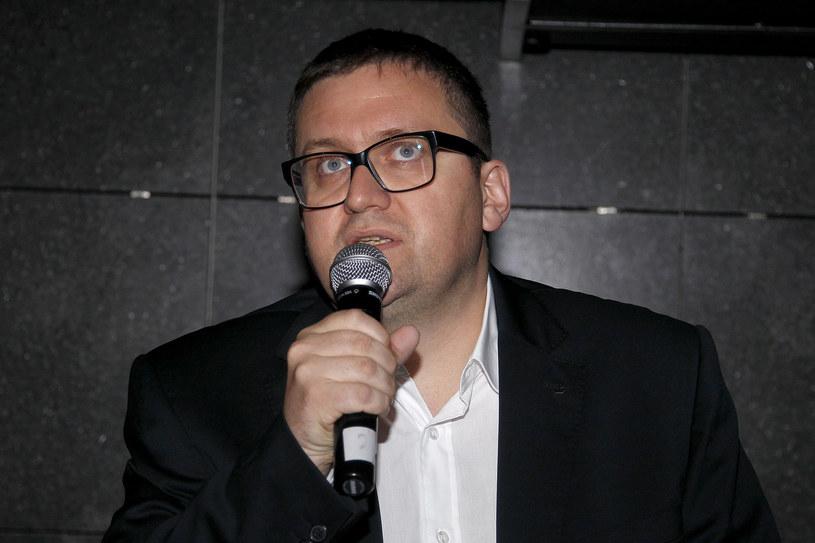 """Jan Ołdakowski, dyrektor Muzeum Powstania Warszawskiego, które jest współproducentem filmu """"Kurier"""" /AKPA"""