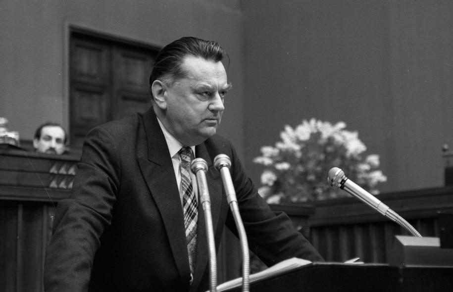 Jan Olszewski na zdj. z 1991 roku /Ireneusz Radkiewicz  /PAP