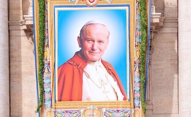 Jan Paweł II doczekał się pomnika w Rosji /AFP