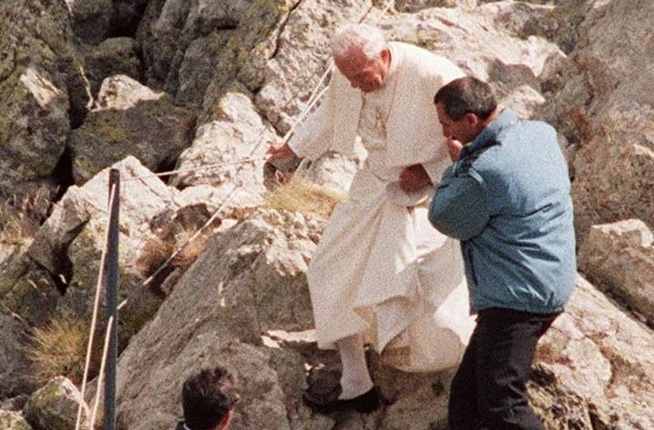 Jan Paweł II kochał góry /AFP