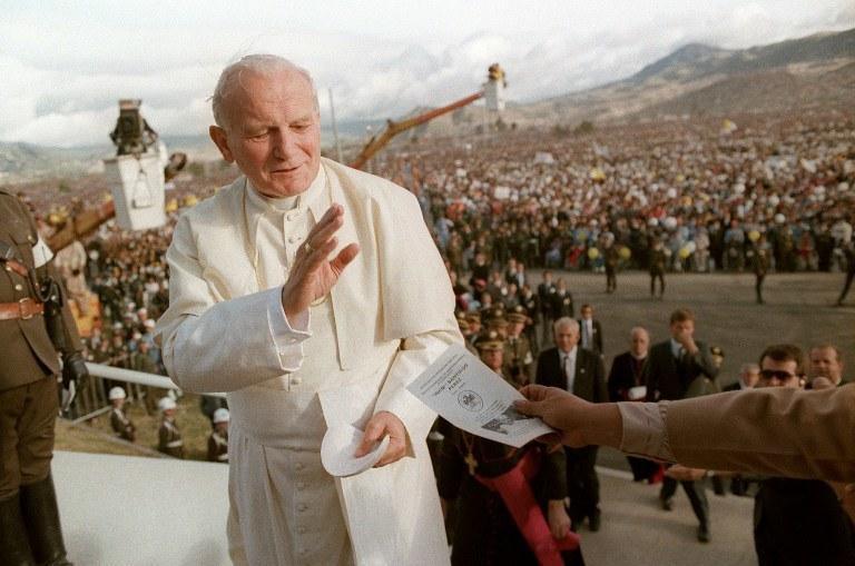 Jan Paweł II /AFP