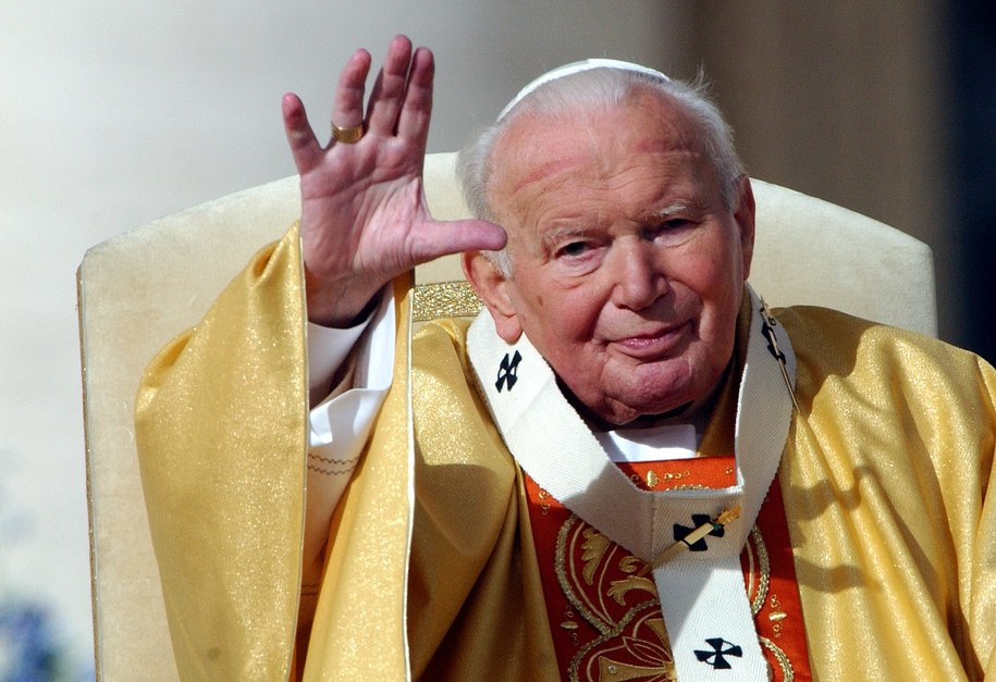 Jan Paweł II /Eric Vandeville /PAP/Abaca