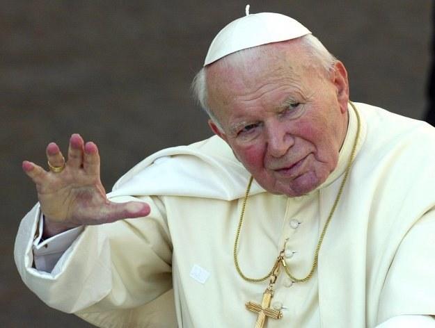 Jan Paweł II /AFP /AFP