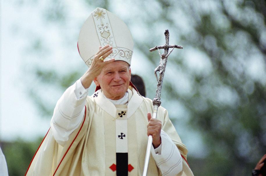 Jan Paweł II /Dominik Obertreis/dpa /PAP/EPA