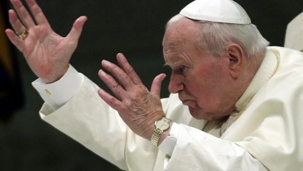 Jan Paweł II /FILIPPO MONTEFORTE/Ansa /PAP