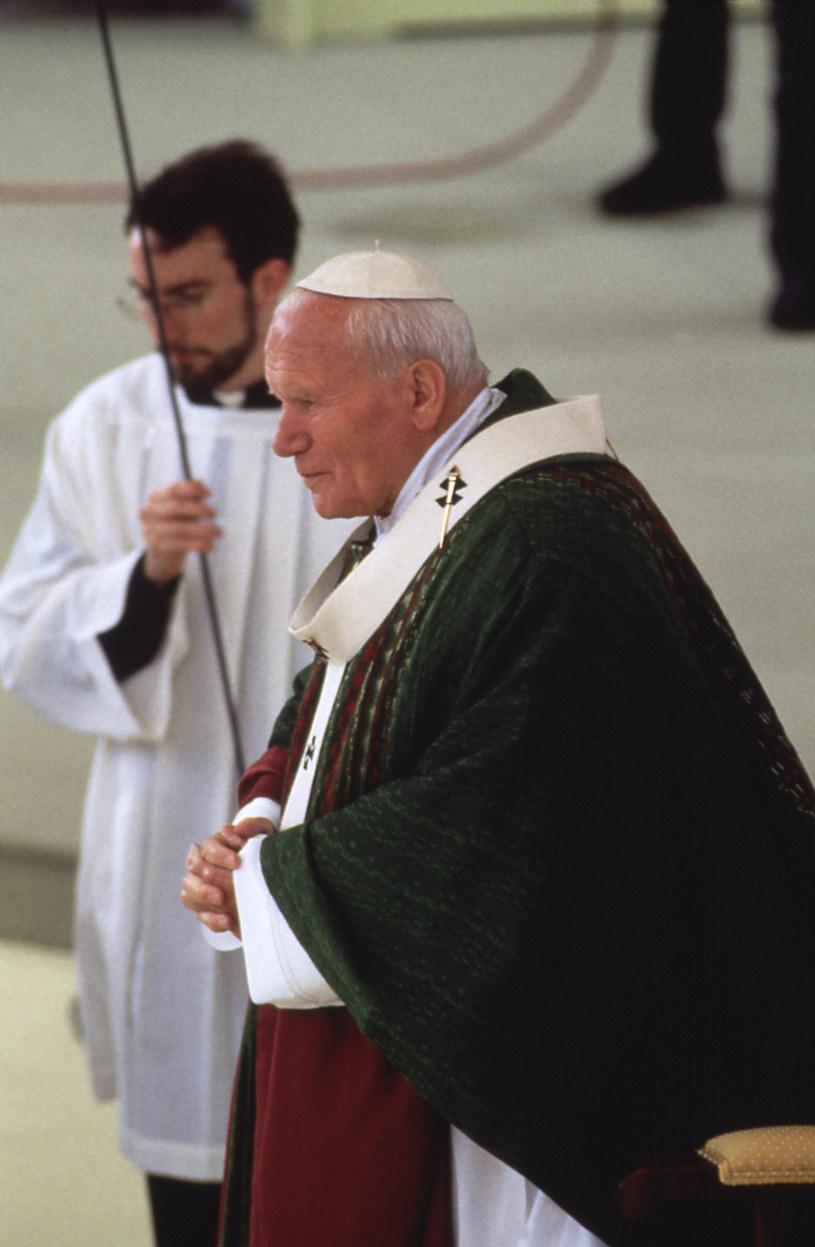 Jan Paweł II /AKPA