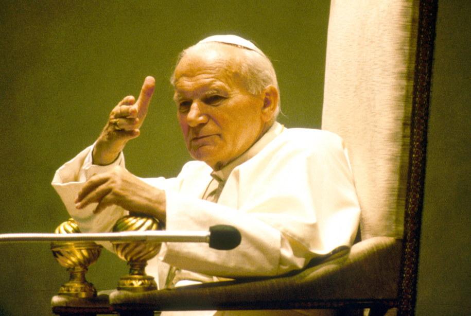 Jan Paweł II / Daniel Jungman /PAP