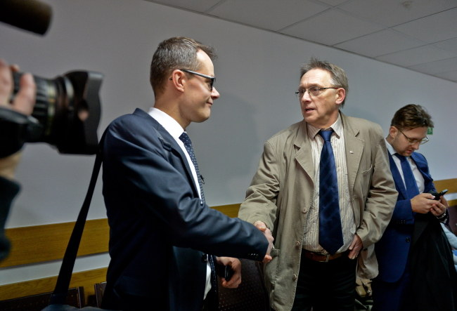 Jan Pawlicki i Tomasz Gzell /Marcin Obara /PAP