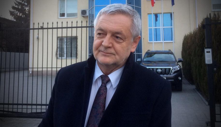Jan Piekło, polski ambasador w Kijowie /Krzysztof Kot /RMF FM