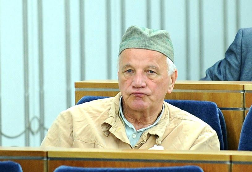 Jan Rulewski podczas debaty w Senacie /fot. Bartosz Krupa /East News