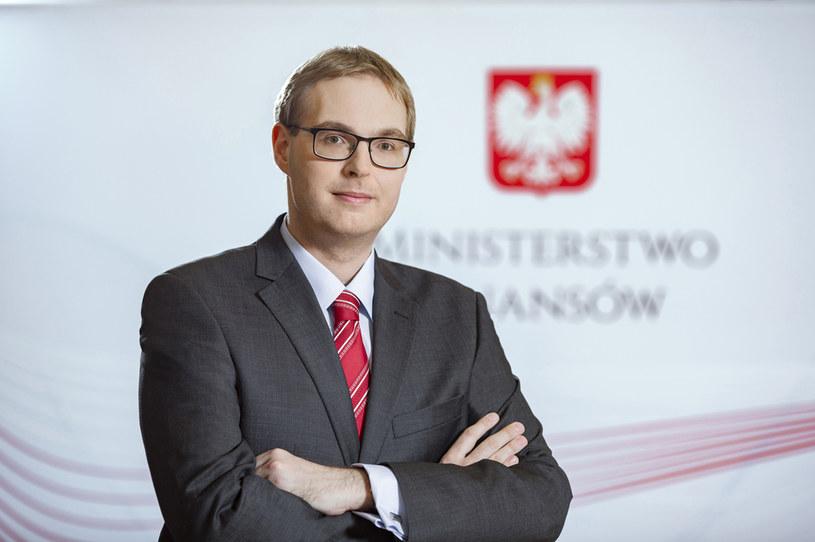 Jan Sarnowski, wiceminister finansów. /materiały prasowe