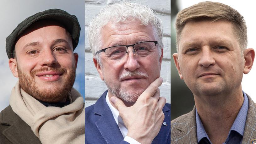 Jan Śpiewak, Jacek Wojciechowicz, Andrzej Rozenek /S. Maszewski/G. Banaszak/M. Luczniewski /Reporter