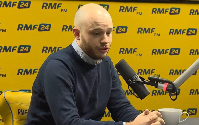 Jan Śpiewak w RMF FM /RMF