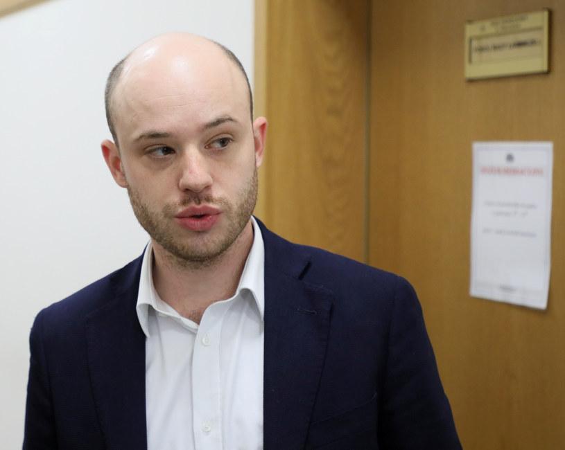 Jan Śpiewak w sądzie /Piotr Molecki /East News