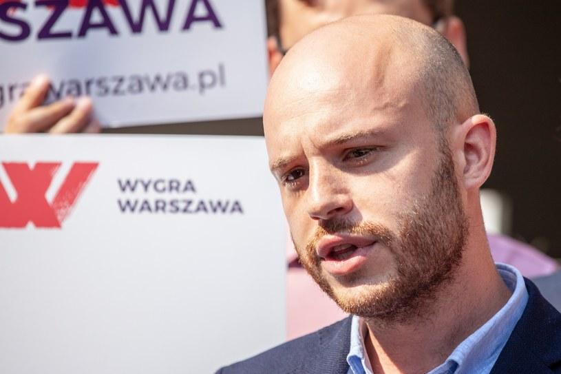Jan Śpiewak wierzy w zwycięstwo nad Rafałem Trzaskowski i Patrykiem Jakim /Grzegorz Banaszek /Reporter