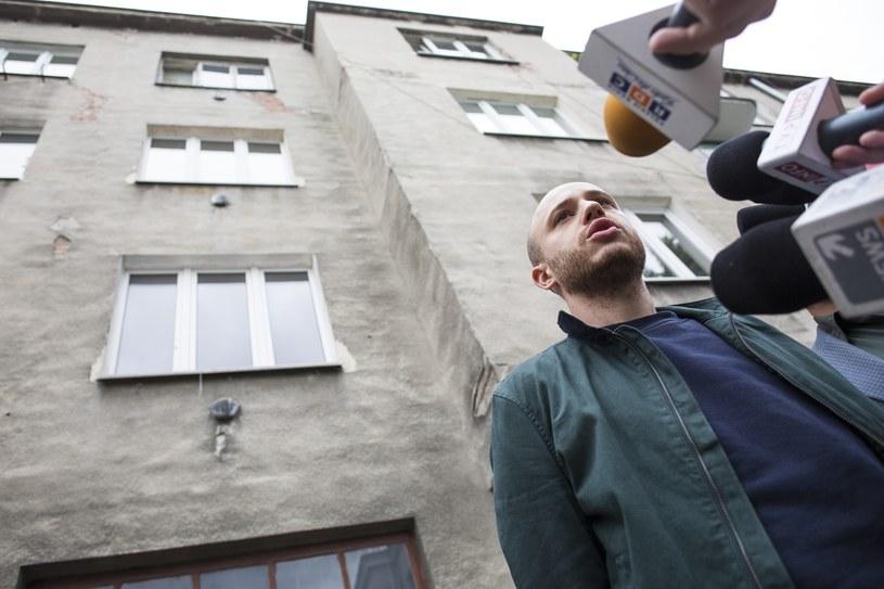 Jan Śpiewak ze Stowarzyszenia Wolnego Miasta Warszawa /Andrzej Hulimka  /East News