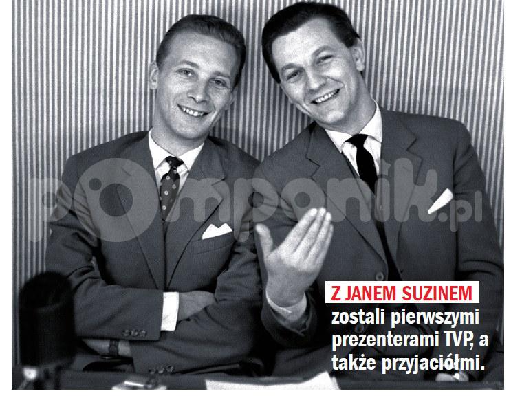 Jan Suzin i Eugeniusz Pach /Rewia