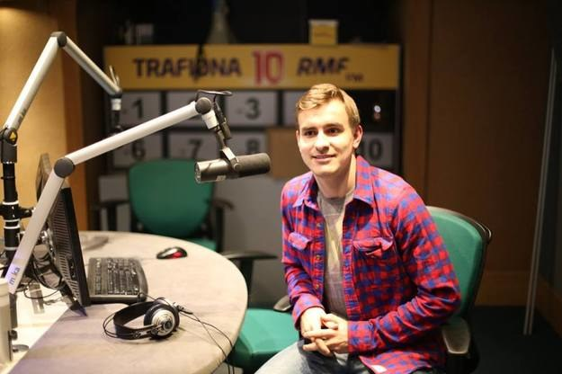 Jan Szymański w siedzibie RMF FM /RMF24.pl