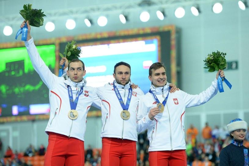 Jan Szymański (z prawej) /AFP