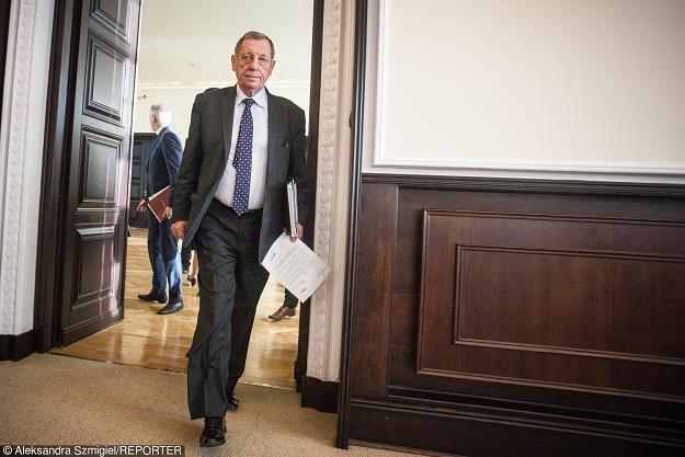 Jan Szyszko - minister srodowiska fot. Aleksandra Szmigiel-Wisniewska /Reporter