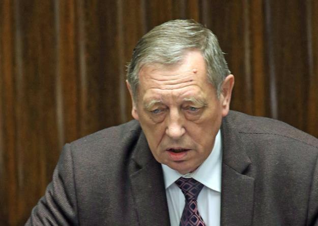 Jan Szyszko, minister środowiska. Fot. Sławomir Kamiński Agencja Gazeta /