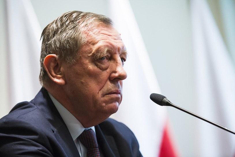 Jan Szyszko /Andrzej Hulimka  /Reporter
