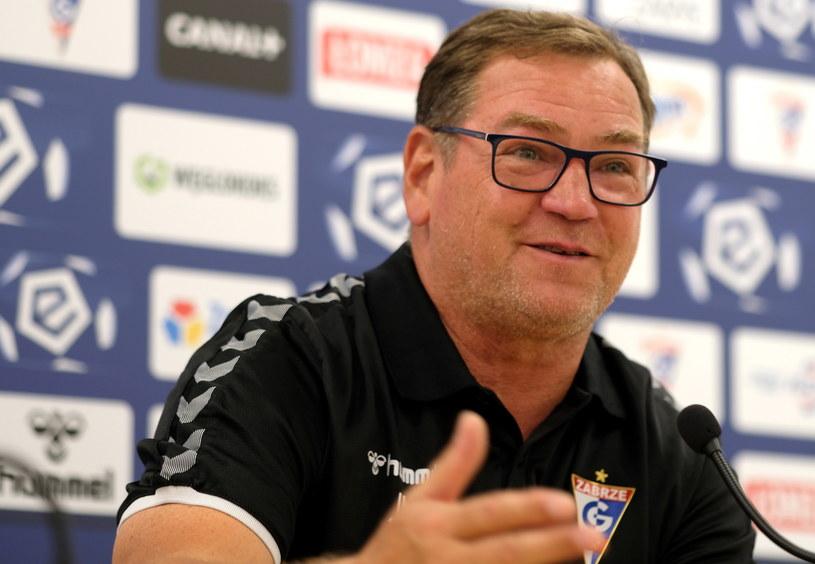 Jan Urban, trener Górnika /Andrzej  Grygiel /PAP