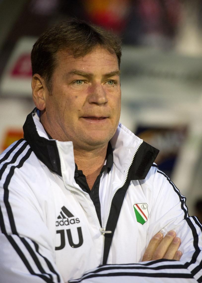 Jan Urban, trener Legii /Grzegorz Michałowski /PAP
