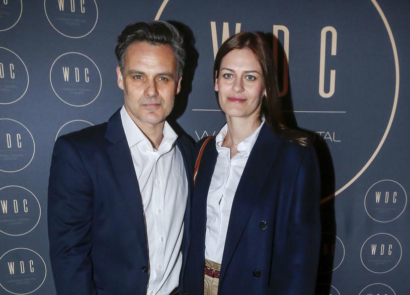 Jan Wieczorkowski i Urszula Karczmarczyk-Wieczorkowska. Event w Warszawie /MWMedia