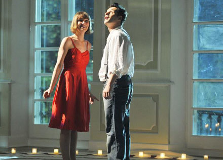Jan Wieczorkowski (Piotr) i Inge (Aneta Todorczuk-Perchuć) /AKPA